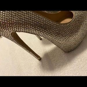Gently Worn Sparkling Crystal Heels - STEVE MADDEN